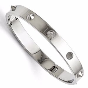 Spikes Bracelet Stainless Steel Polished